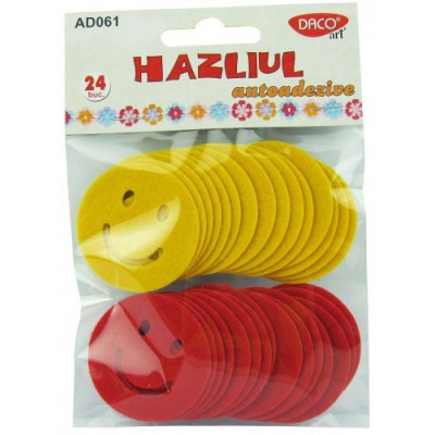 Set Smiley Faces Rosu/Galben AD061