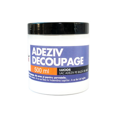 Adeziv decoupage Mustash 500ml