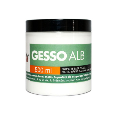 Grund acrilic Gesso Mustash 500ml