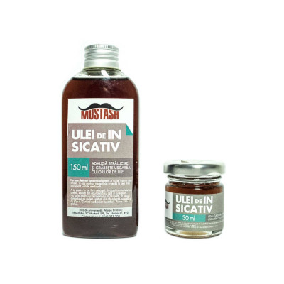 Ulei de In Sicativat Mustash 150 ml