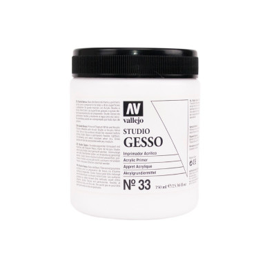 Clear Gesso 500ml