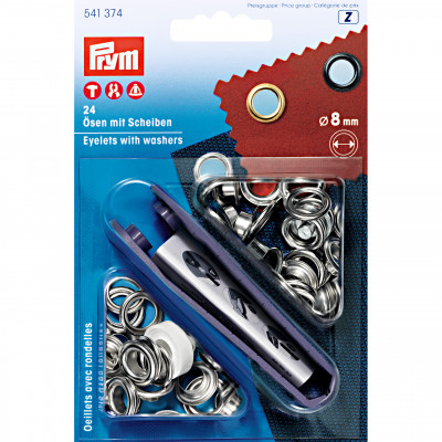 Set ocheti metalici cu aplicator 8mm 541374