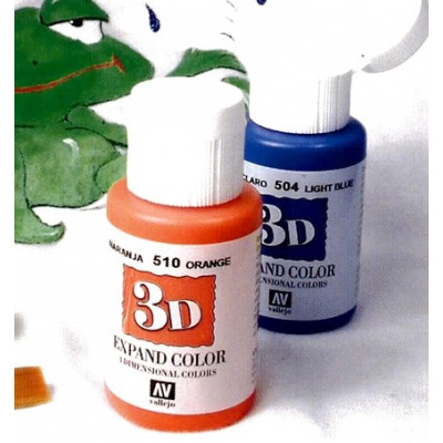 Culori textile 3D Expand color Vallejo 35ml