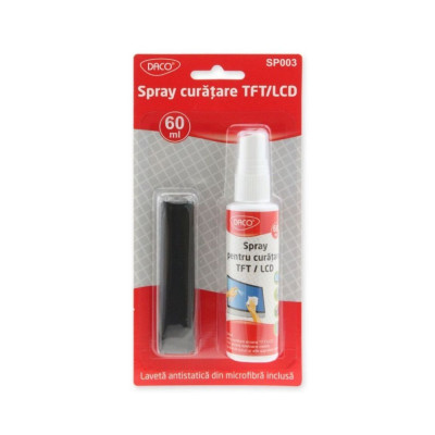 Spray curatare ecrane TFT/LCD 60 ml SP003