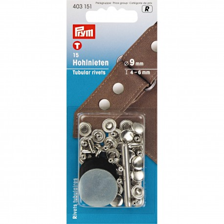 Set riveti 9mm Prym 403151