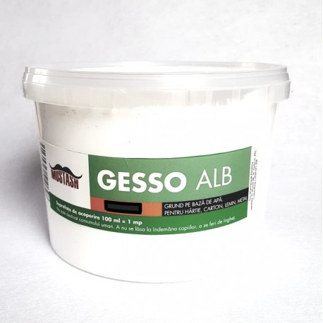 Gesso grund acrilic Mustash 3000ml