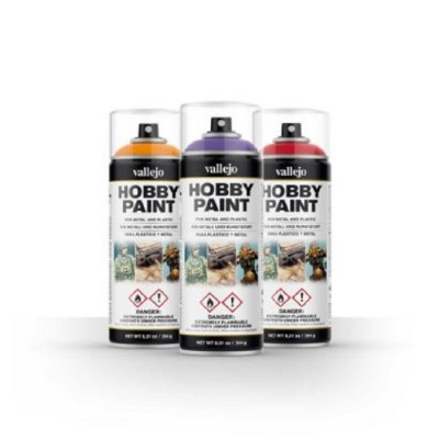 Vallejo Hobby Paint Spray 400ml
