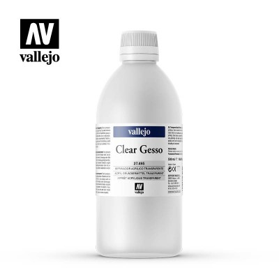 Clear Gesso VALLEJO 500ml 27495