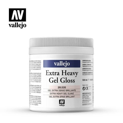 Extra heavy Gel Gloss 500ml 28535