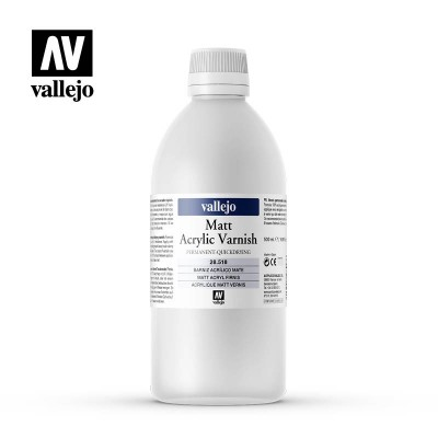 Vernis Permanent Mat VALLEJO 500ml 28518