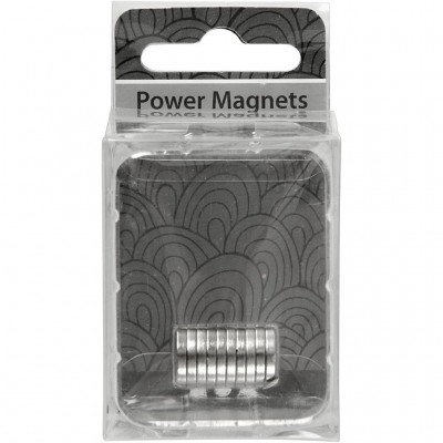 Set 10 magneti rotunzi 10x2mm 517931