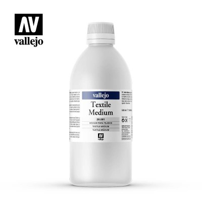 Medium Textile Vallejo 500ml 28081