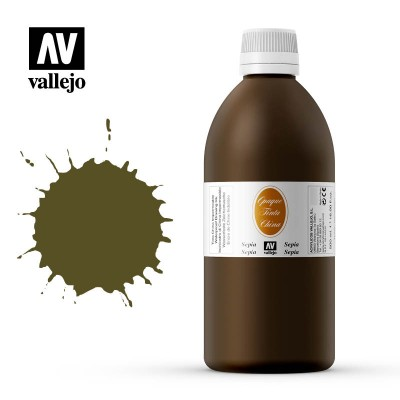 Cerneala opac Vallejo 500ml