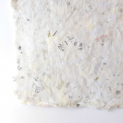 Hartie manuala Recycled OFF White 35x45