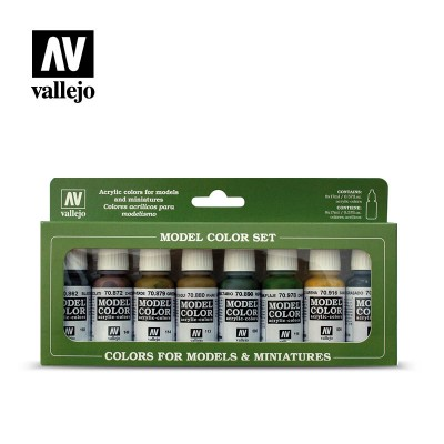 Model color Set German Colors WWII VALLEJO 70107