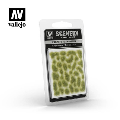 Vegetatie sintetica - Light Green 6mm - Vallejo SC417