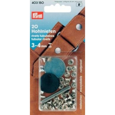 Set 20 riveti tubulari - 403150