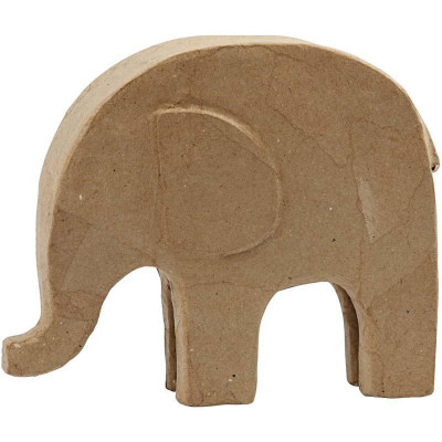 Obiect decorabil din carton Elefant - 26527