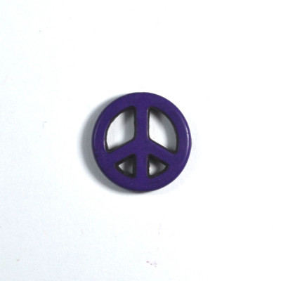 Margea Howlite Mica - Peace - Mov