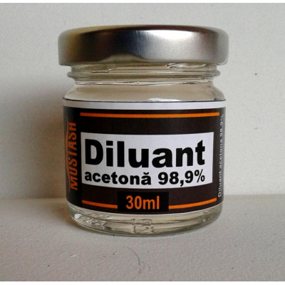 Diluant Acetona 30 ml Mustash