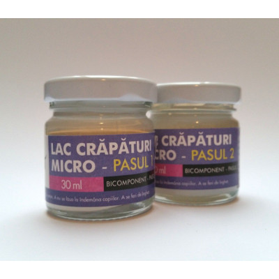 Lac de crapare Bicomponent Mustash 30ml - Micro