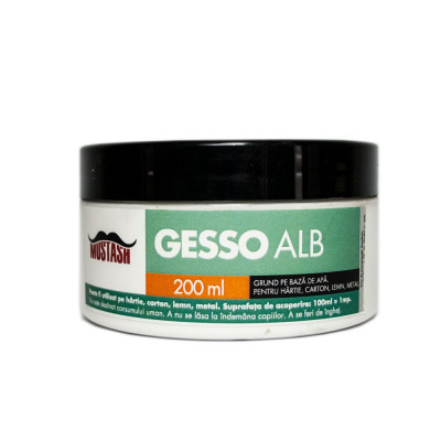 Grund acrilic Gesso Mustash 200ml