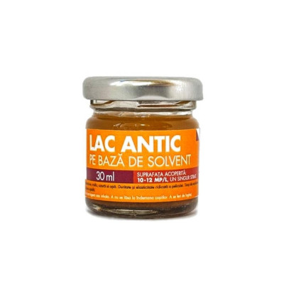 Lac Antic pe baza de solvent 30ml