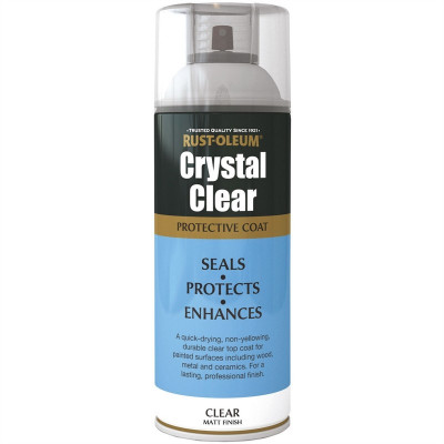 Lac Crystal Clear Mat 400ml
