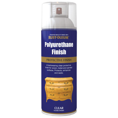 Lac Polyurethane Clear Gloss 400ml