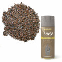Spray vopsea texturata Stone Mineral Brown 400ml