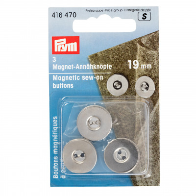 Set nasturi magnetici 19mm 416470