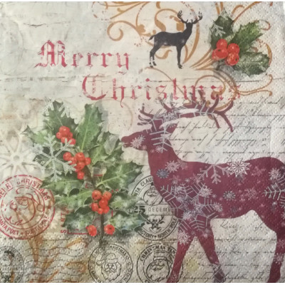 Servetel decoupage 303630